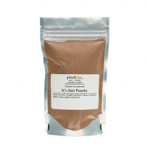 organic peach pie mix
