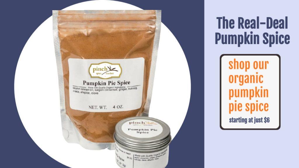 buy organic pumpkin pie mix