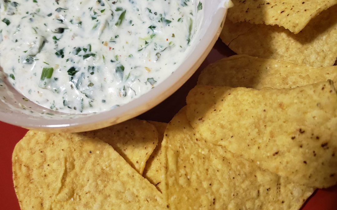 Single-Serve Microwave Spinach Dip