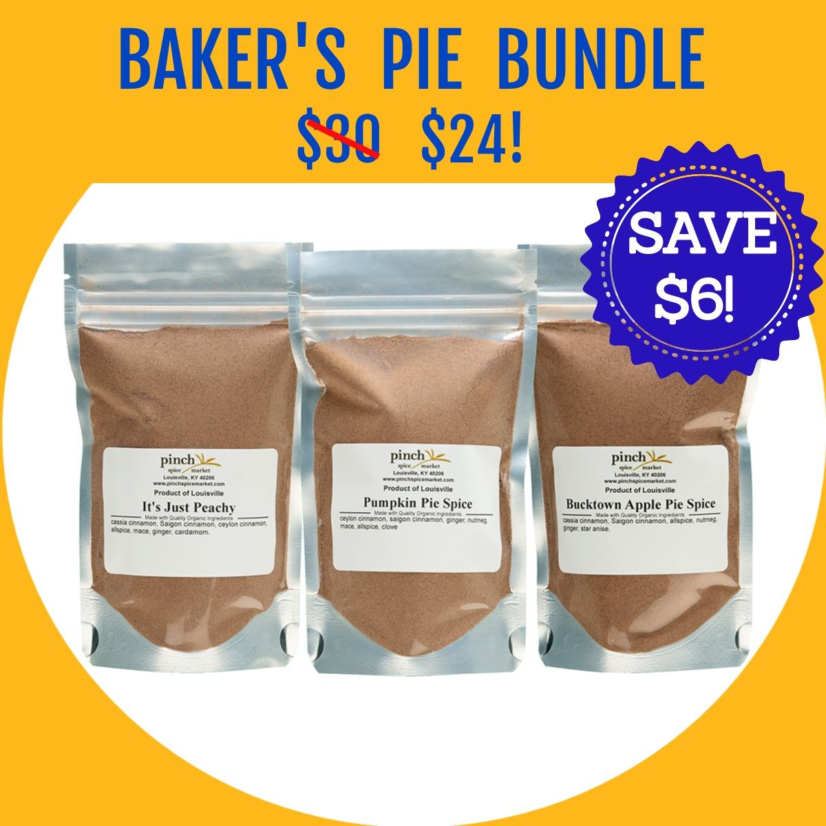 prime deal on 3 pack pie spice