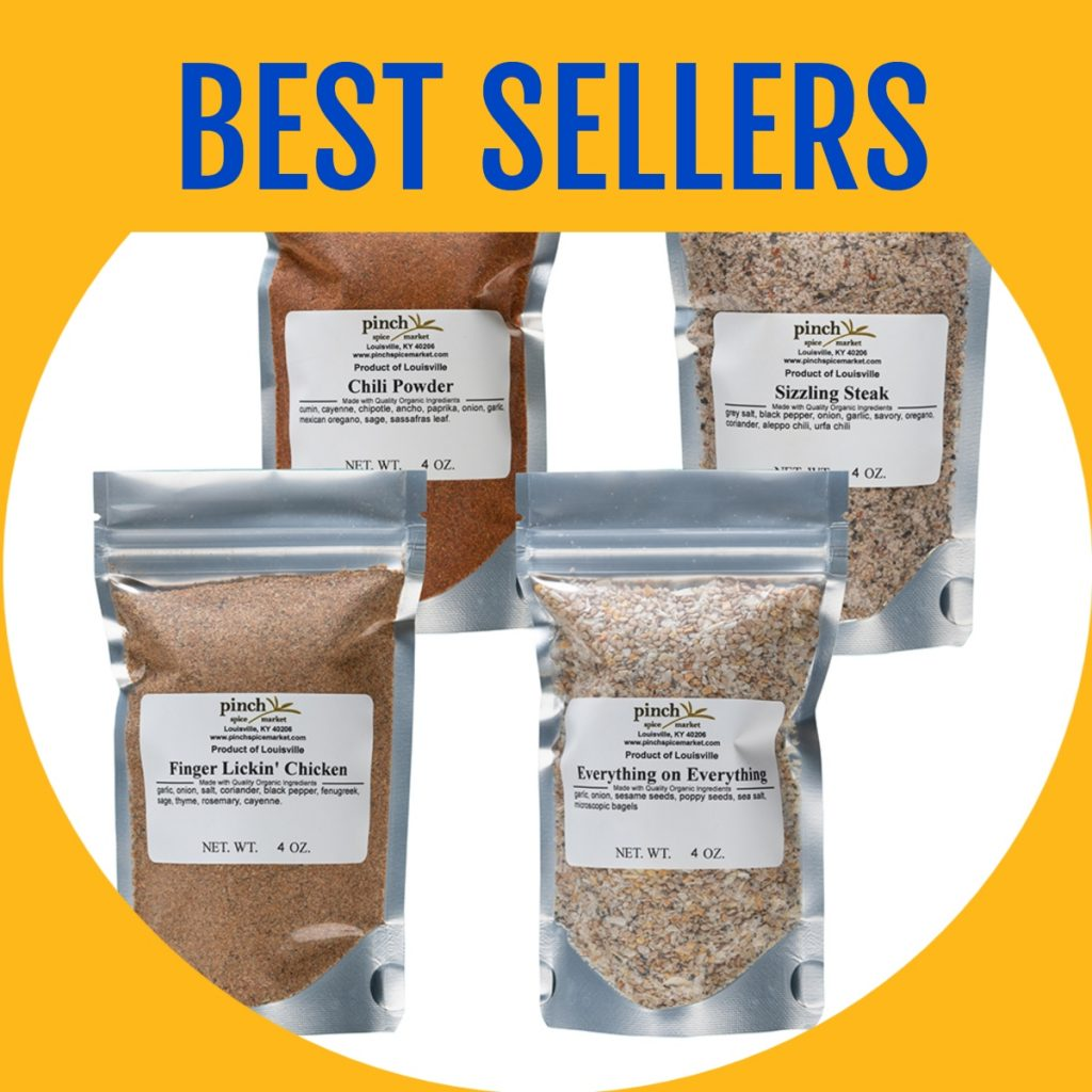 most popular spices four pack