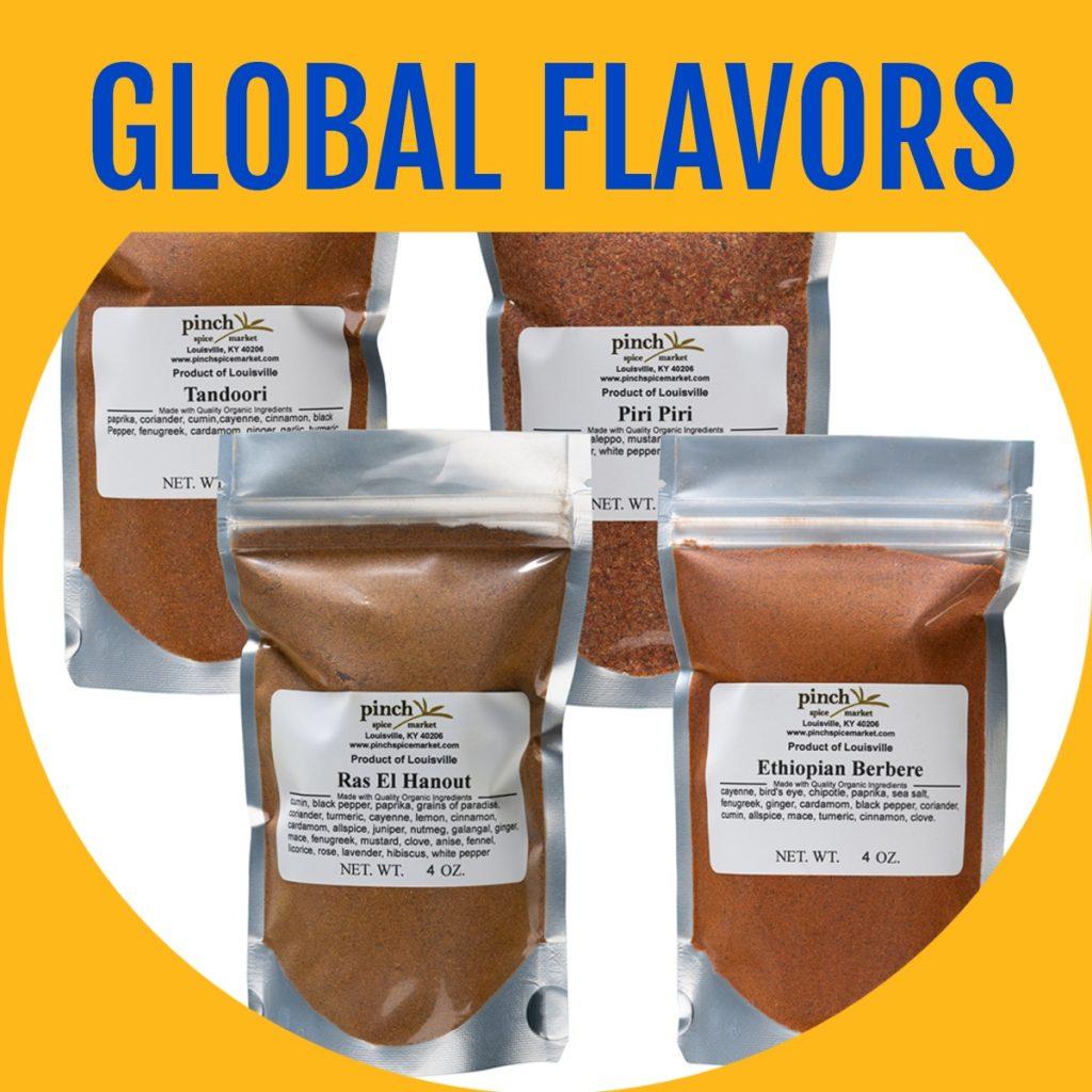 four international spice flavors