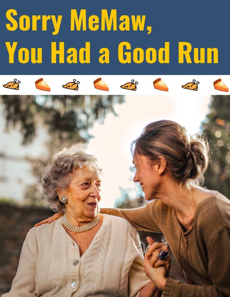 make thanksgiving dinner better than grandma