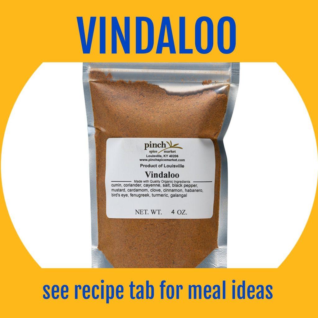 hot Indian spice vindaloo