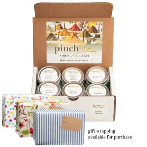 spice gift box for someone who loves cooking Indian food