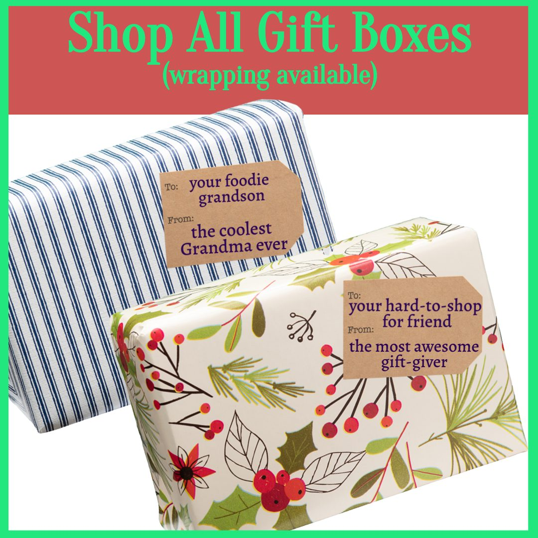 gift boxes baskets for foodies