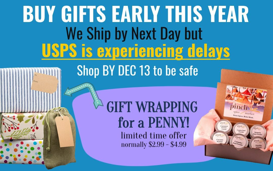 Shop Holiday Gifts Early This Year – USPS is Experiencing Delays!