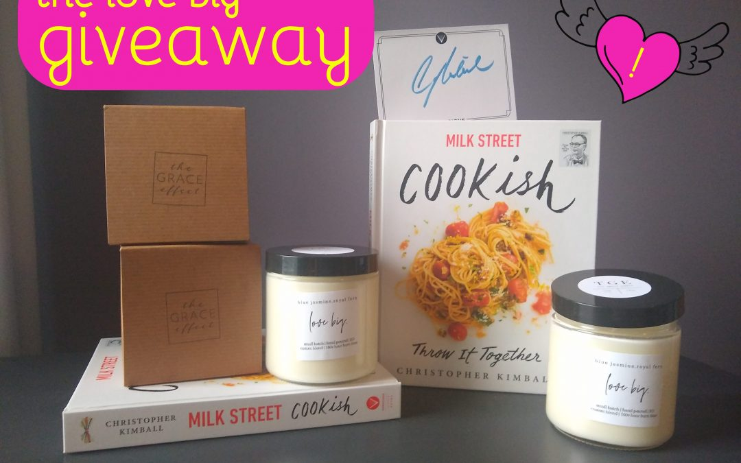 Our Love BIG Candle & Cookish Cookbook Giveaway!