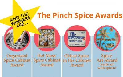 Drum Roll, Please… The Winners of the 1st Annual Pinch Spice Awards Are…