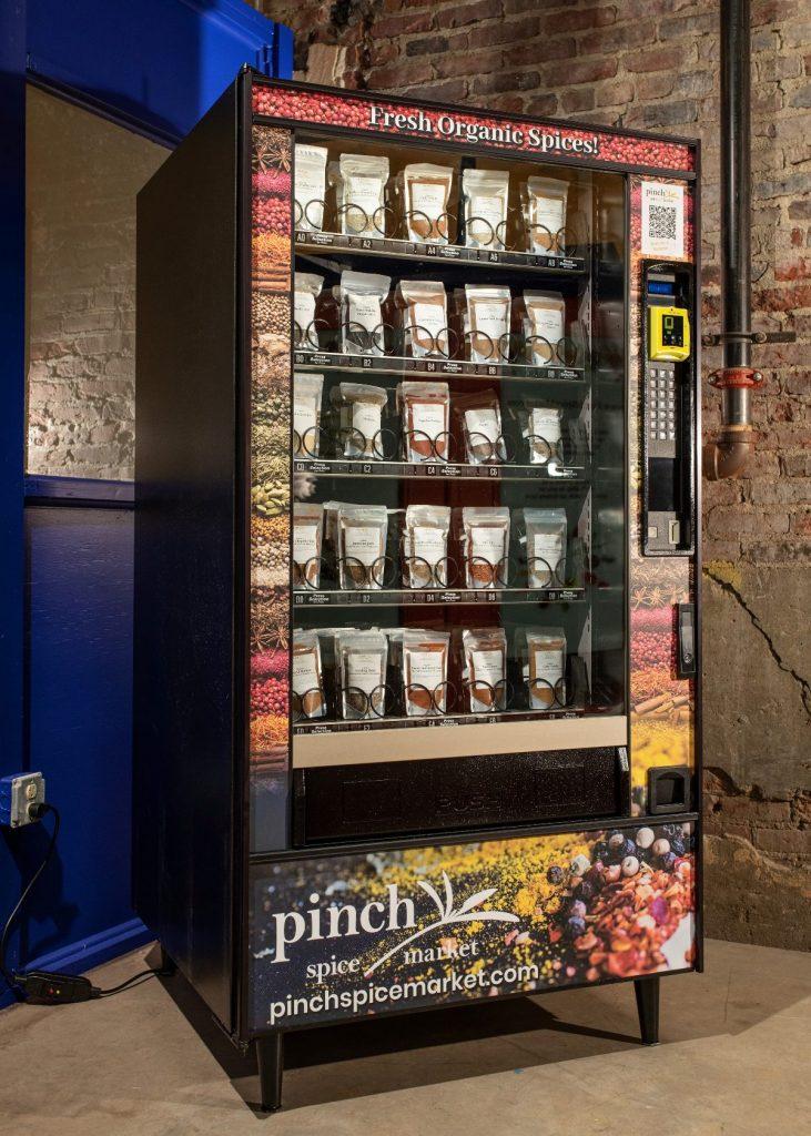 spice vending machine louisville organic seasonings