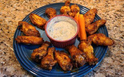 Easy Air-Fryer Indian Chicken Wings