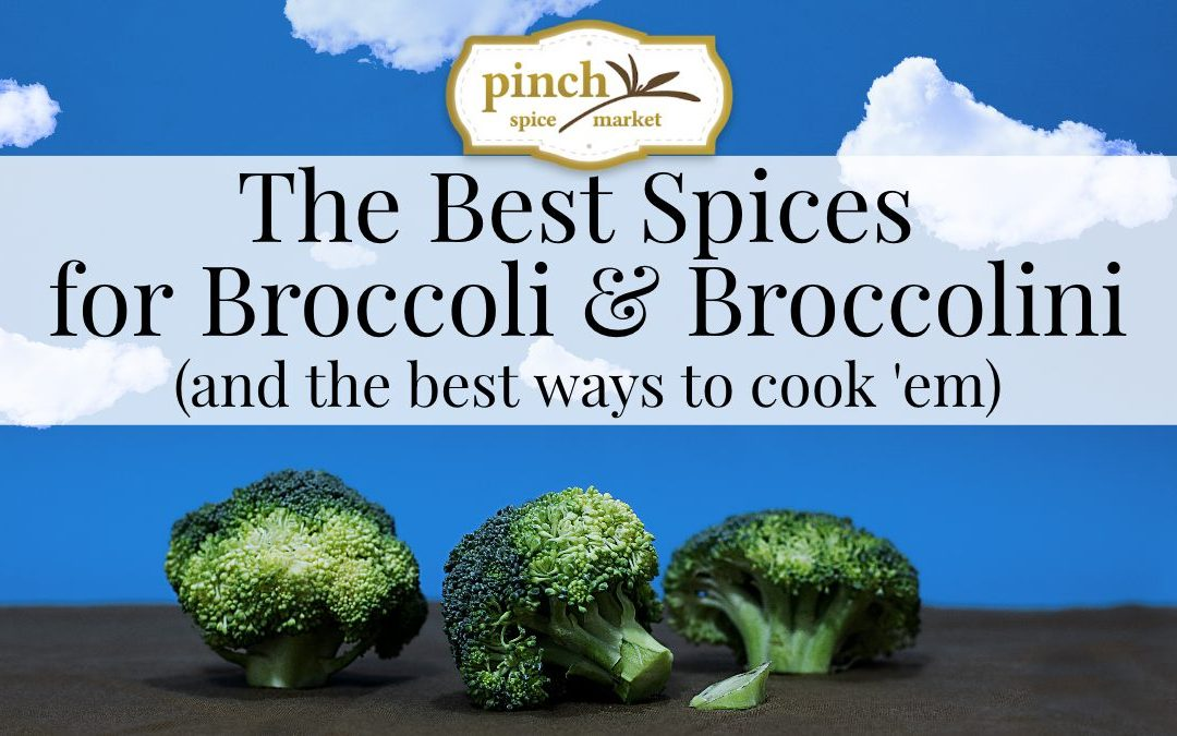 The Best Spices & Herbs for Cooking Broccoli & Broccolini