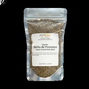 certified organic bag of herbs de Provence