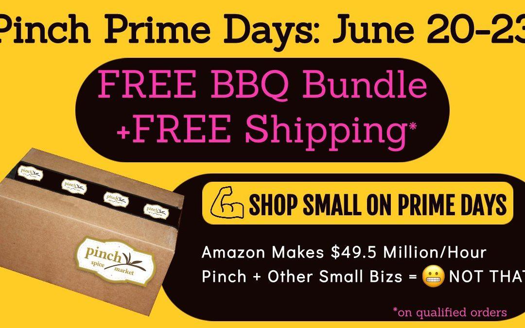 BIG Pinch Prime Days SALE   Shop Small vs Amazon!