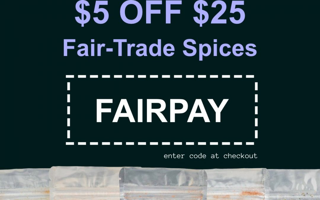 Support Fair-Trade Farmers this Labor Day | $5 Off! (ENDS TUESDAY!)
