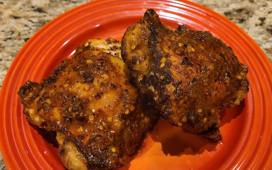 Grilled Harissa BBQ Chicken